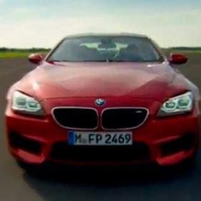 Claudia Hürtgen prueba el BMW M6