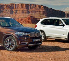 BMW X5, tracción a un solo eje y motor de 4 cilindros