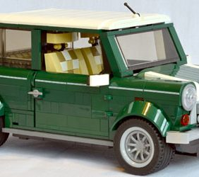 Un MINI en 1077 piezas de LEGO