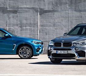 Nuevos BMW X5 M y BMW X6 M