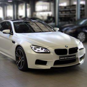 El BMW Coupé más exclusivo se puede ver en Autosa,  M6  Coupé Competición