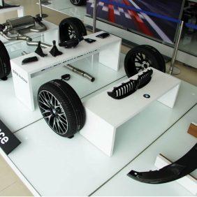 Accesorios BMW M Performance disponibles en Autosa