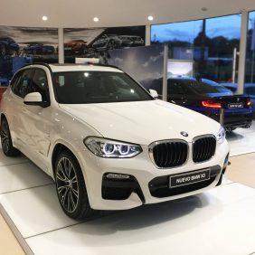 El nuevo BMW X3, más dinámico, más potente y más lujoso ya se encuentra en la exposición de Autosa