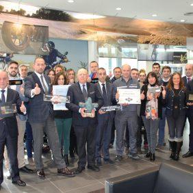 Autosa recibe el premio a la Excelencia en BMW Motorrad 2017