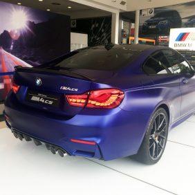 Autosa cuenta en exclusiva con el M4 CS edición limitada en color Frozen Dark Blue de 460 CV