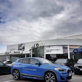 En Autosa ya se puede probar el nuevo BMW X2