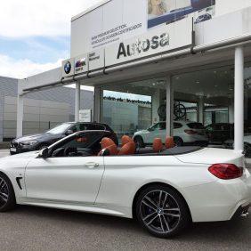 Disponible en Autosa para pruebas el BMW 430 I Cabrio