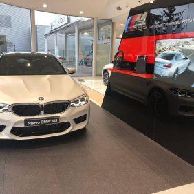 Autosa renueva su zona BMW M de la mano del nuevo BMW M5