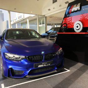 Autosa cuenta con dos unidades del BMW M4 CS edición limitada único en Asturias