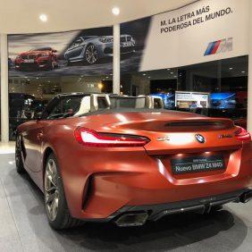 Disponible en Autosa uno de los cinco únicos y excepcionales nuevos BMW Z4 M40i que hay en España en color Frozen Orange Metalizado