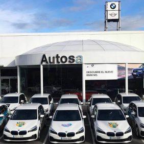 Autosa hace entrega de la flota en Asturias  de 17 vehículos BMW a la empresa Calidad Pascual