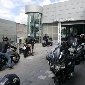 Gran éxito de la Jornada de pruebas de BMW Motorrad en Autosa