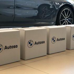 En Autosa hemos hecho entrega de nuestra donación al Hospital Universitario Central de Asturias de 300 Mascarillas FFP2